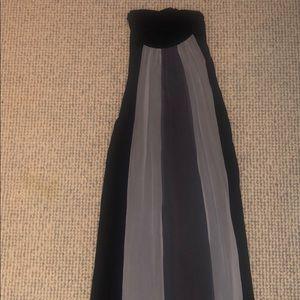 Striped halter top dress